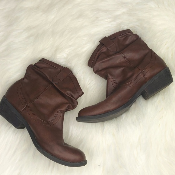 Rose Brown Leather Ankle Boots | Poshmark